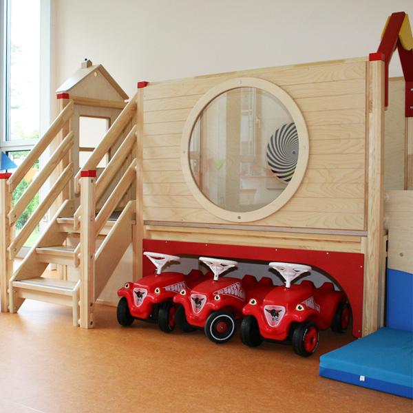 Spieleinrichtung in der Kinderkrippe / Kindertagesstätte Smile e.V. in Dreieich